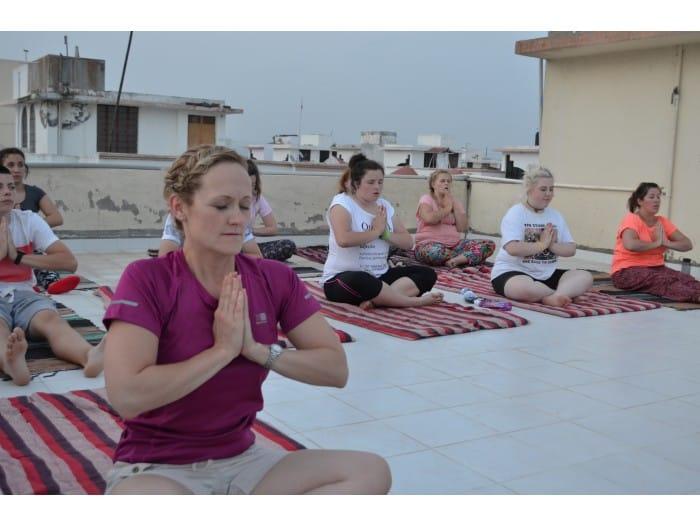 Meditation i Indien