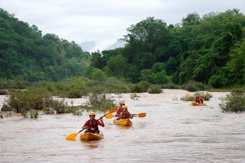 Vi overlevede!!! (100 vandfald, junglen og Phnon Savanh)