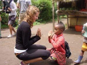Frivilligt arbejde med børn