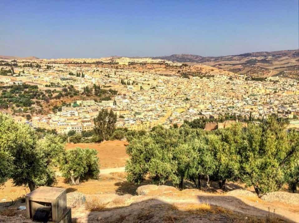Flot udsigt i Marokko