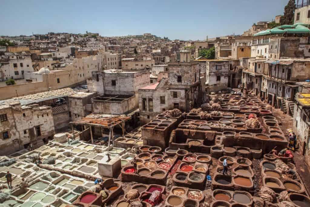 Chefchaouen i Marokko