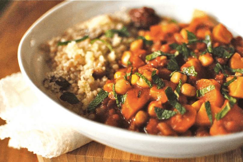 Eksotisk mad i Marokko