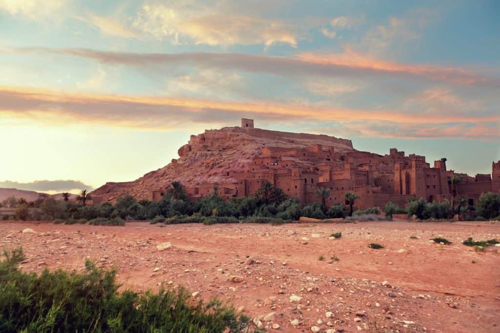 Bjerge i Marokkos ørken