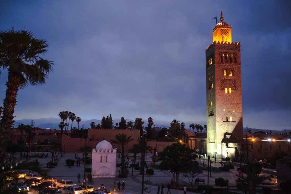 Se moskeerne i Marokko