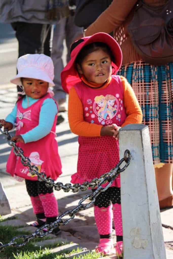 Sydamerikanske børn