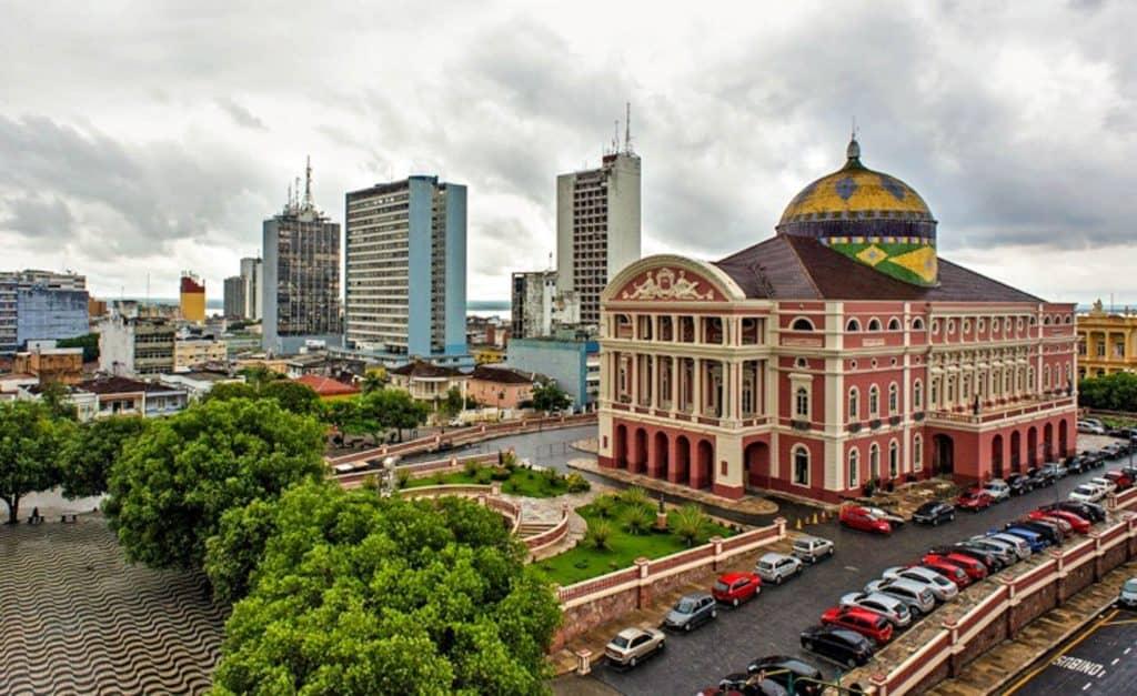 Manaus flotte arkitektur