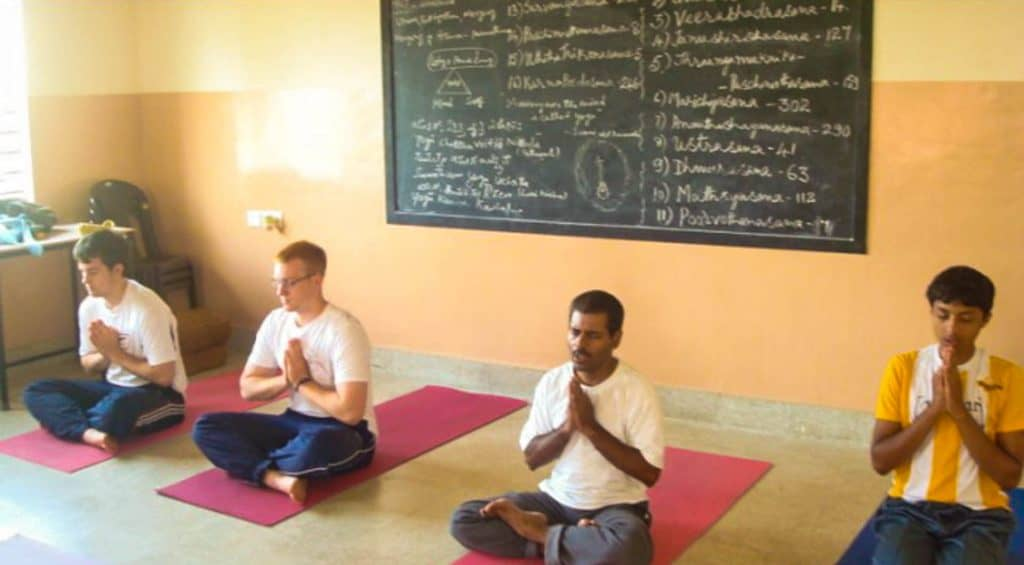 Adventure og yoga i Indien