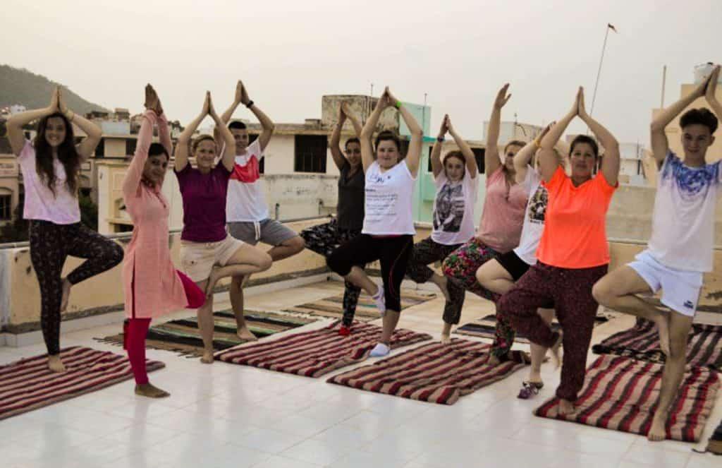 Yoga rejse til Indien