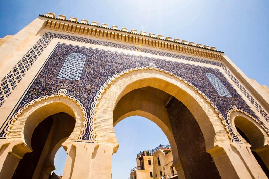 Marokkos flotte arkitektur