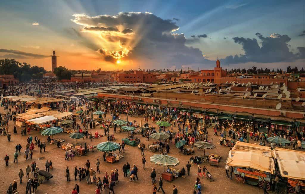 Oplev Marokkos marked på din rundrejse