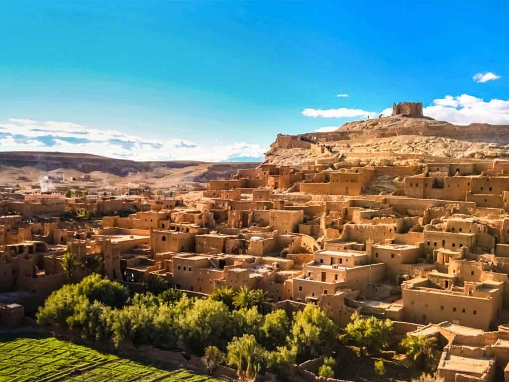 Flot udsigt og natur i Marokko