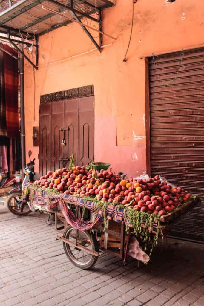 Lokalmarked i Marokko