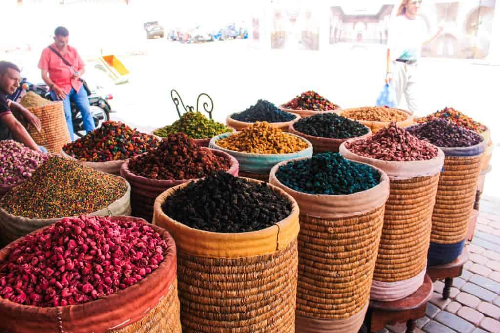 Flotte materialer i Marokko