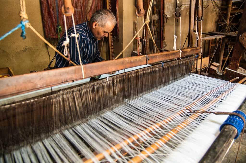 Tekstilfabrik i Marokko
