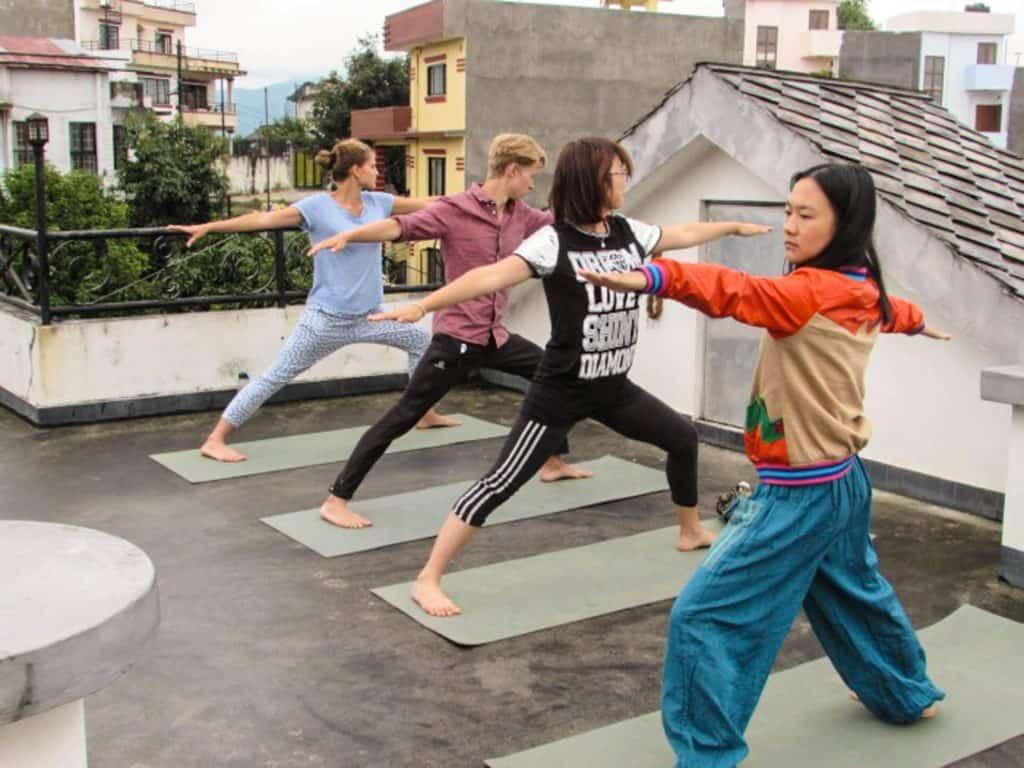 Yogarejse i Nepal