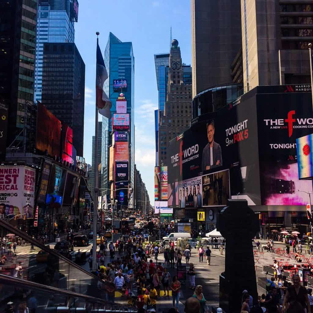 New York rejse med internationale deltagere