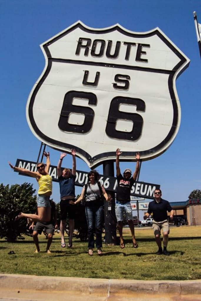 Grupperejse til Route 66
