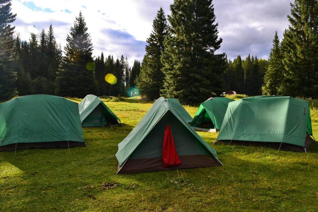 Trekking og camping på din grupperundrejse til USA