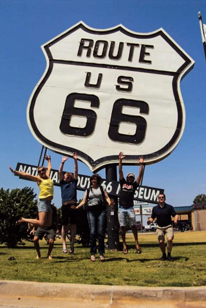 Adventure grupperejse til Route 66