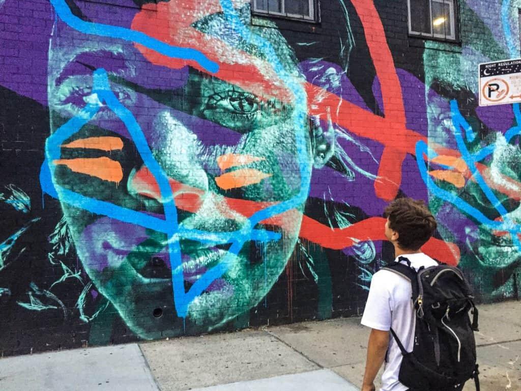 Street kunst i New York