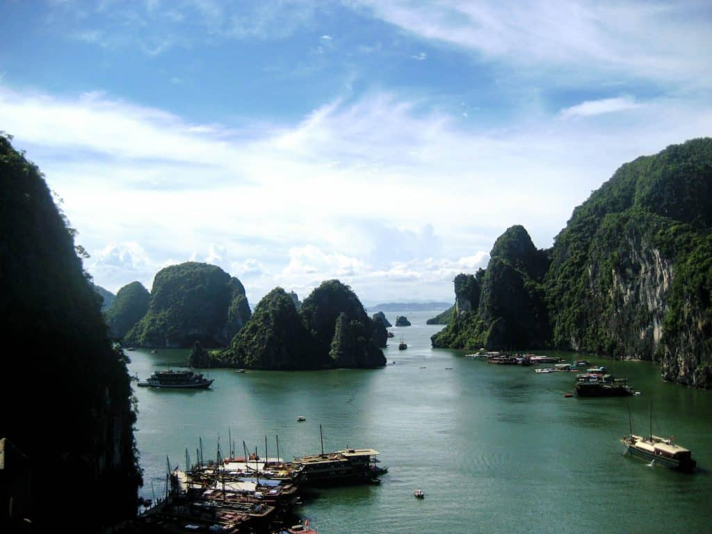 Grupperejse til Ha Long Bay